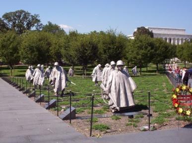 The photo is a courtesy of Korean War Veterans Association