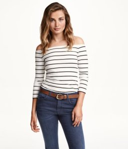 H&M Off-the-shoulder Top ($10)