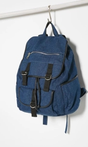 Forever 21 Drawstring Denim Backpack ($33)