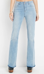 Forever 21 High-Waisted Flared Jeans
