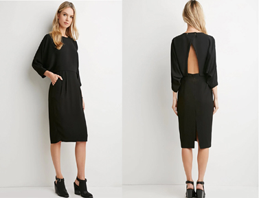 Forever 21 Batwinged Sleeve Dress ($30)