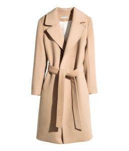 H&M Wool-Blend Coat ($129)