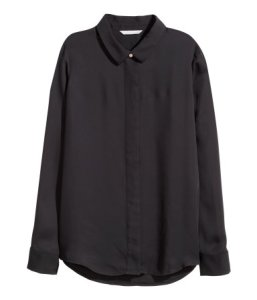 H&M Long-Sleeved Blouse ($25)