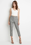Forever 21 Houndstooth Plaid Trousers ($25)