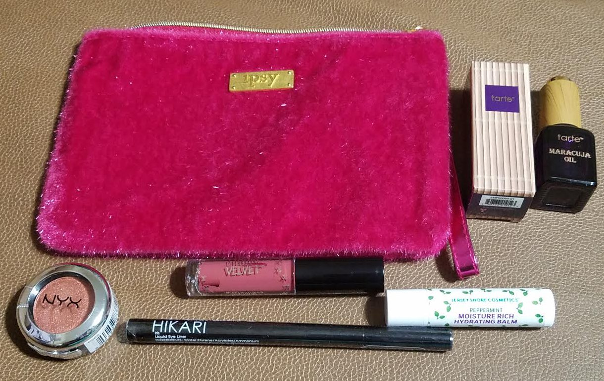 ipsy december glam bag review all about me