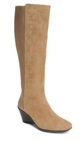 A2 by Aerosoles Taekwondo Wide Calf Wedge Boot ($49.95)